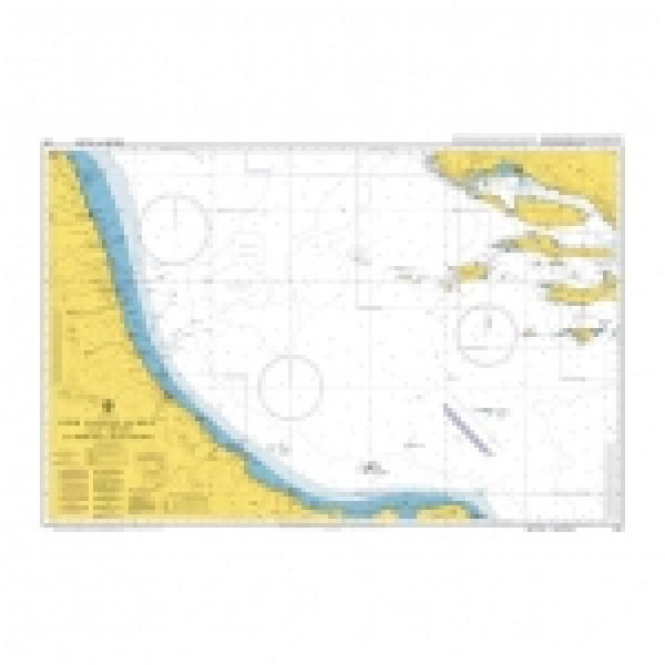 Адмиралтейска карта 0200: Оток Ластово до Сплит и Виесте до Порто Чивитанова