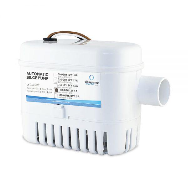 Автоматична осушителна помпа 1100 GPH 24V