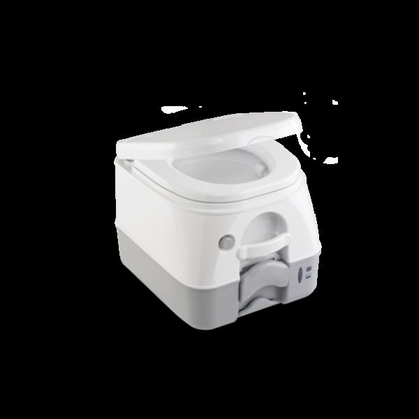 Химическа тоалетна Dometic 972, бяло/сиво