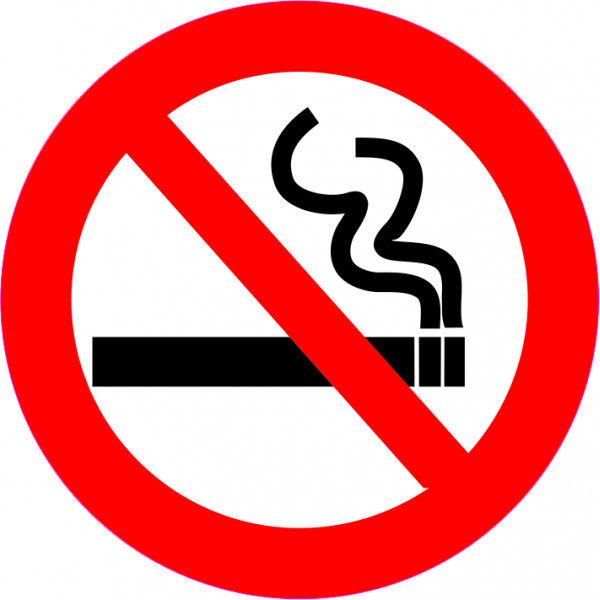 3D стикери No smoking