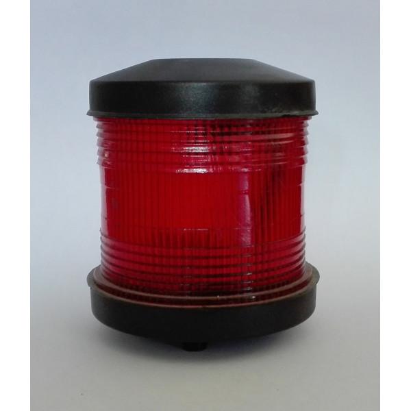 Светлина кръгововидима, червена