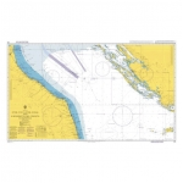 Адмиралтейска карта 0220: Оток Вис-Оток Сусак и Сан Бенедето дел Тронто до Равена