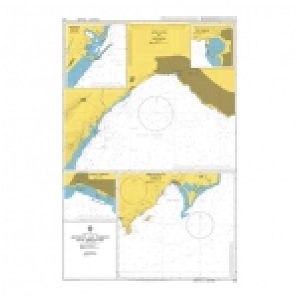 Адмиралтейска карта 0242: Южно крайбрежие Турция, Анталия и Тасучу с подходи