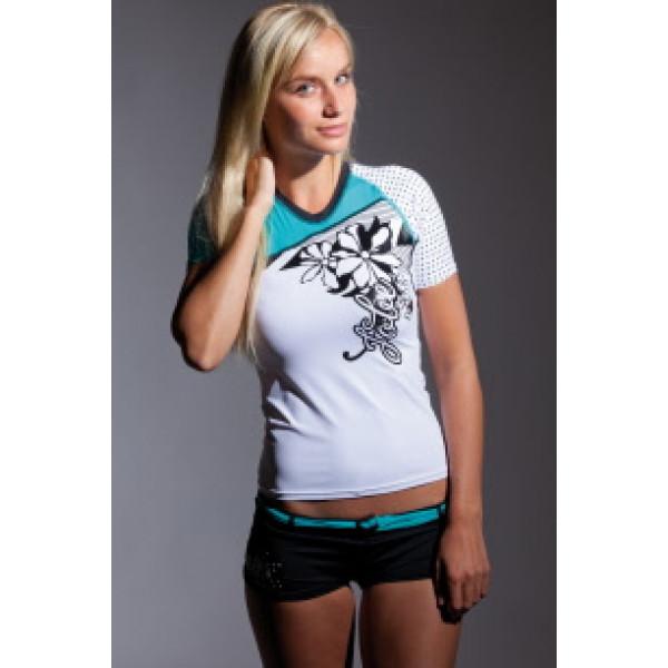 Тениска Rash Guard Future Blue