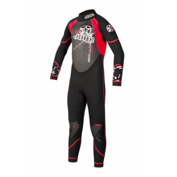 Неопрен дълъг Full Suit Rebel Youth Red 3.0mm, 2-3 год.