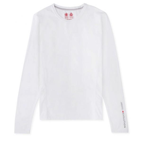 Блуза дамска дълъг ръкав, бяла