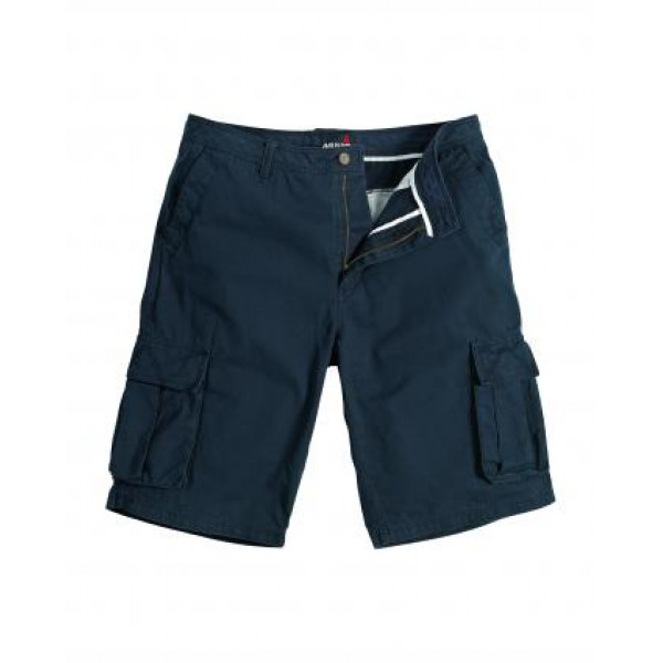 Къси мъжки панталони MULTI POCKET MUSTO тъмно сини