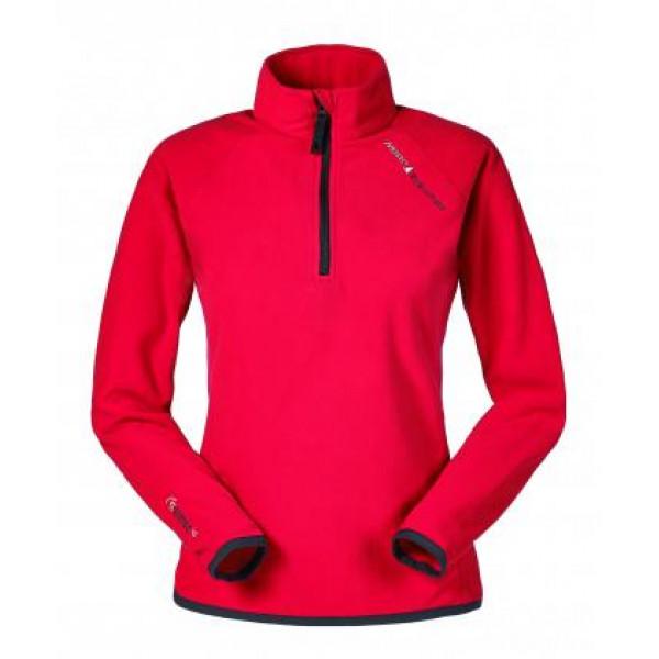 Блуза дамска EVOLUTION MICRO FLEECE MUSTO червена