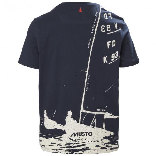Тениска FD K93, MUSTO, синя