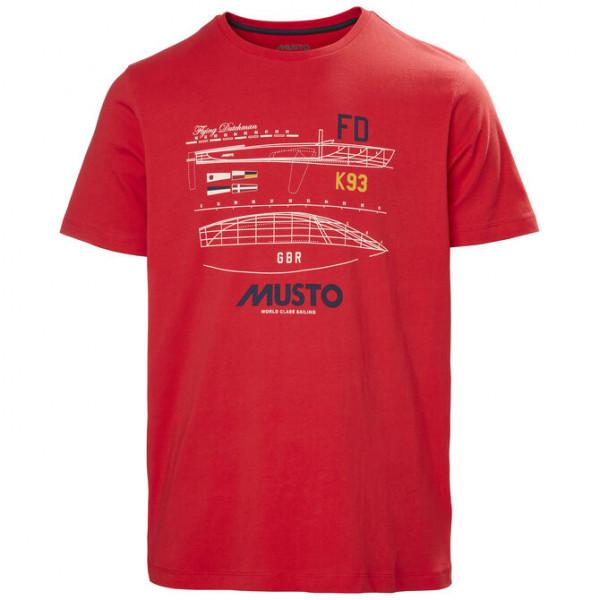 Тениска Flying Dutchman, червена