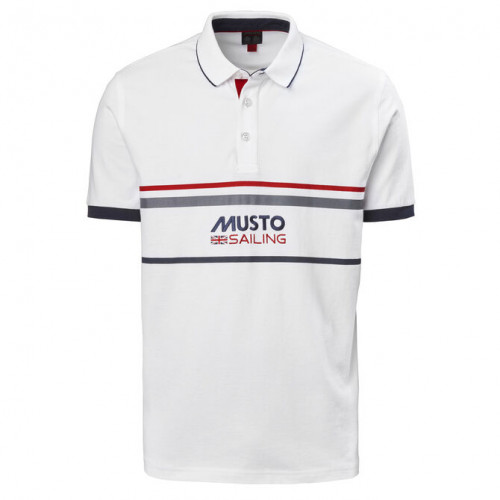 Тениска Amalfi Polo, бяла
