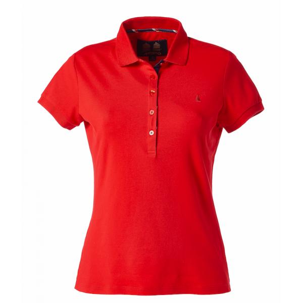 Тениска дамска PIGUE POLO MUSTO червена
