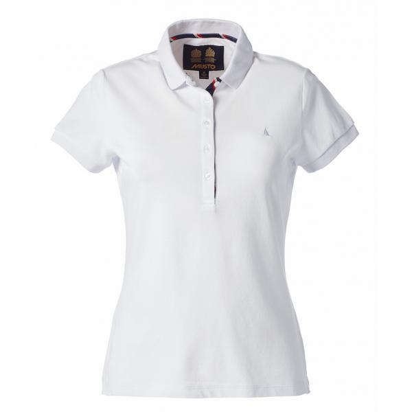 Тениска дамска PIGUE POLO MUSTO бяла