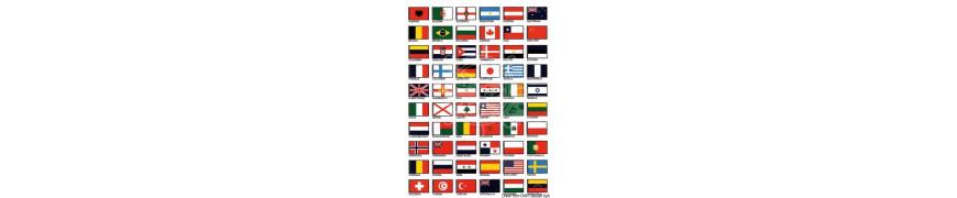 Флагове и стикери
