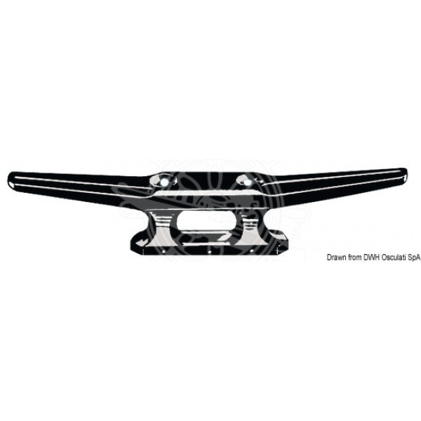Кнехт, PVC, черен (110-210 мм)