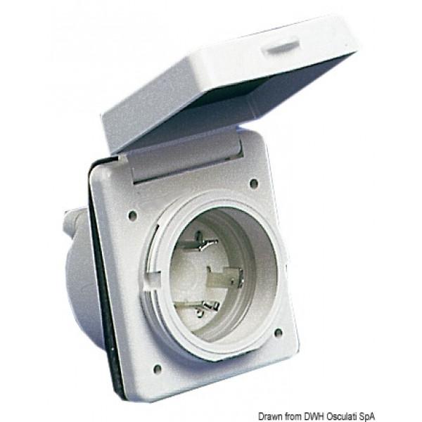 Конектор за захранване ABS, 30A/220V