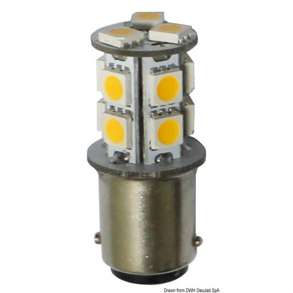 LED крушка 12/24V, 2W