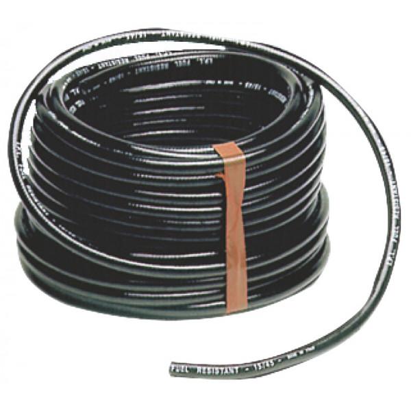 PVC горивен маркуч, черен