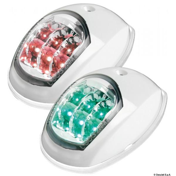 Evoled навигационни светлини бял ABS, Л и ДБ (блистер)