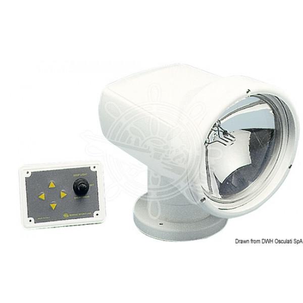 Прожектор с дистанционен контрол, 12V/100W