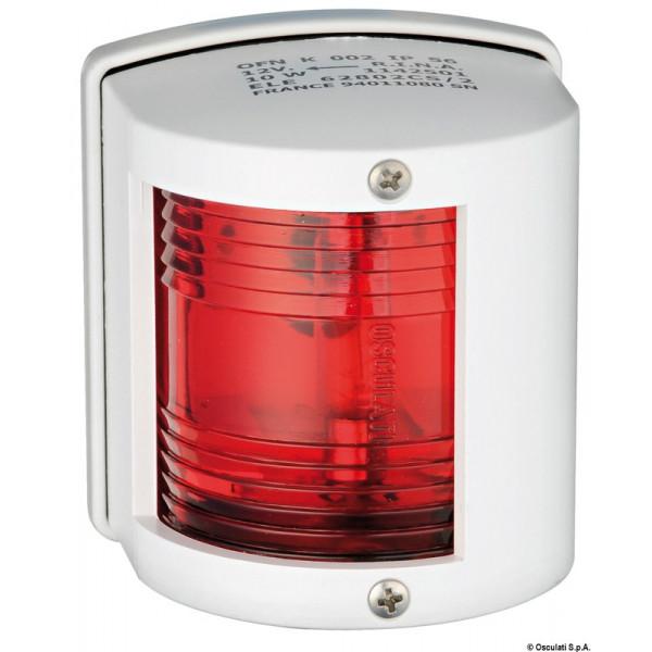 Utility 77 светлина 112,5 ° червена, ляв борд