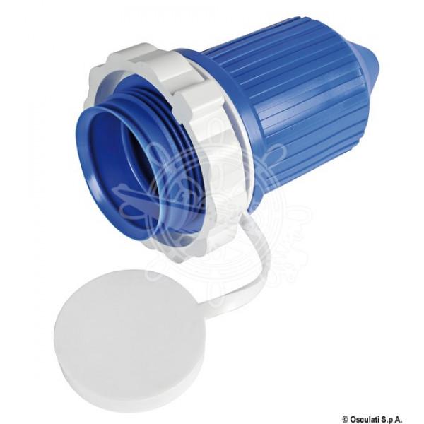 Капачка за конектор захранващ, PVC