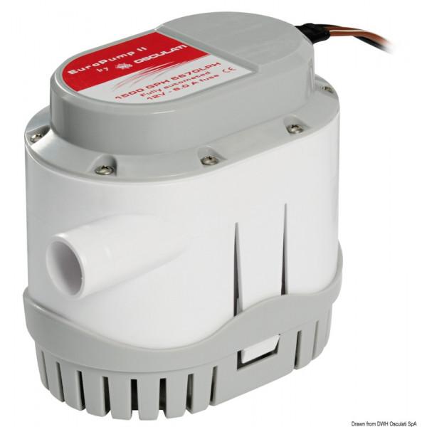 Автоматична помпа Europump II, 12 V 128 l/min