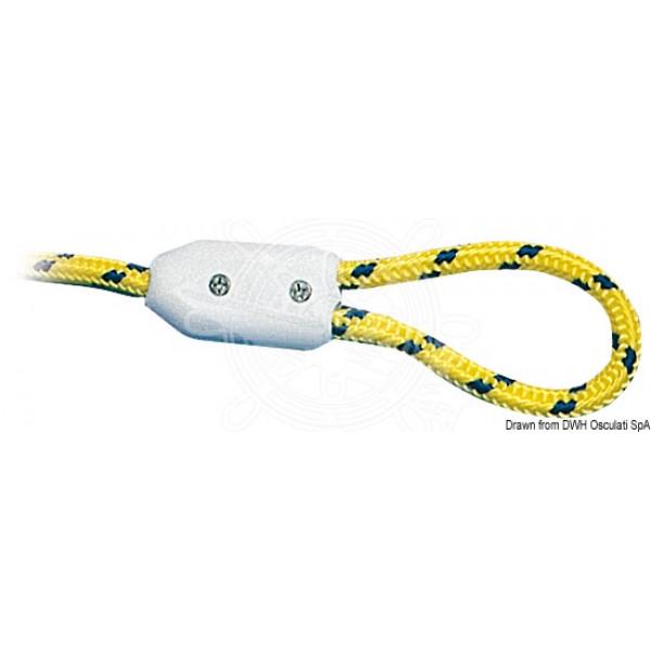Скоба за въже, пластмасова 10 мм