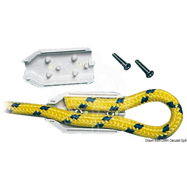 Скоба за въже, пластмасова 8 мм