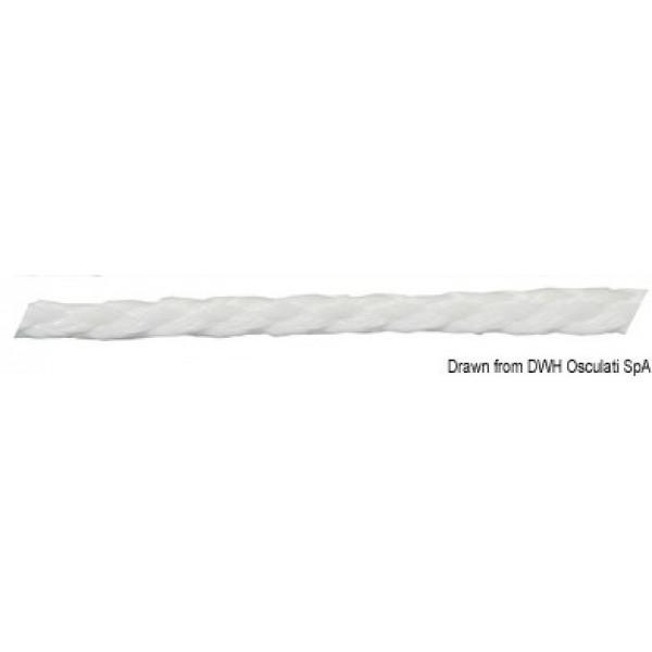 Плaващo въже, бяло