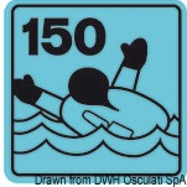Самонадуваща се спасителна жилетка Security 150 N