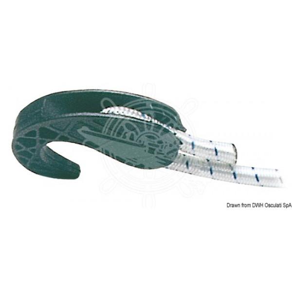 Кука за въже, пластмаса 6/8 мм
